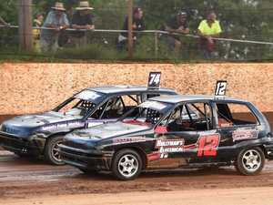 Maryborough Speedway Junior Sedans