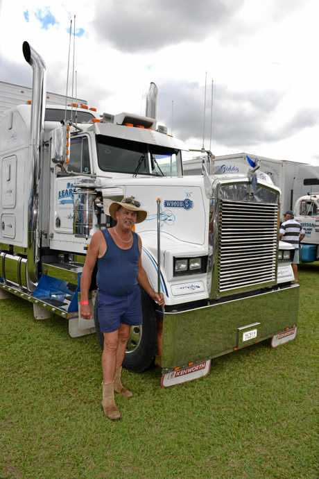 Bernie Learson and his rare KW W900B.