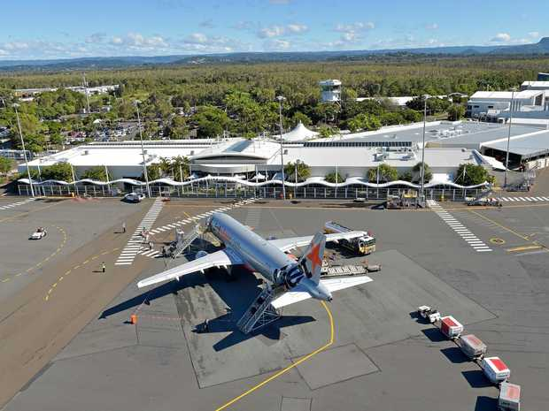 International flights will be using the upgraded Sunshine Coast Airport in just 36 months and we need to be ready, warns Simon Latchford.