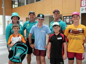 Young cricketers bring Heat