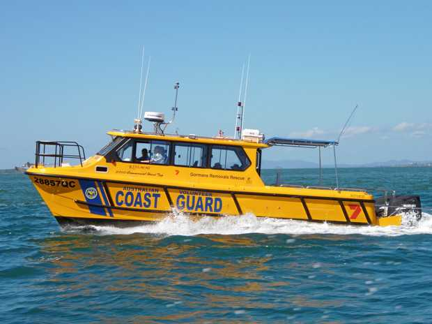 COAST GUARD: This vessel lead Friday's rescue mission.