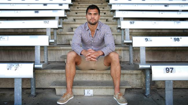 Karmichael Hunt seems to have a nose for trouble. Picture: Peter Wallis