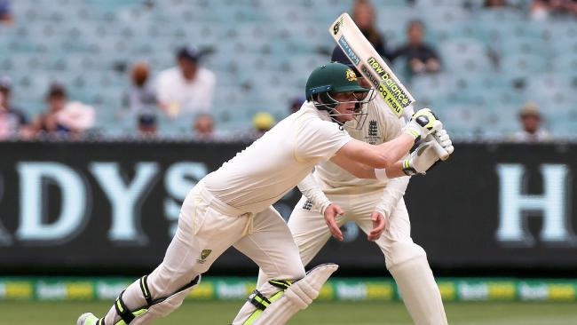 Steve Smith on his way to an astonishing 23rd Test century.
