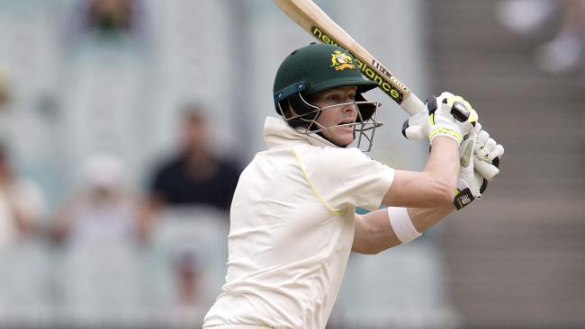 Smith batted over seven hours to save the Aussies. Picture: Michael Klein