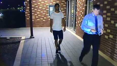 Rugby Australia's Integrity Unit is now investigating the matter and Hunt will be banished from training with the Reds. Picture: 7News Brisbane