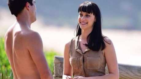 Jessica Falkholt in a scene from Home and Away. Picture: Channel Seven