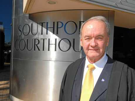 John Hutton at the Southport courts where he was once southern coroner.