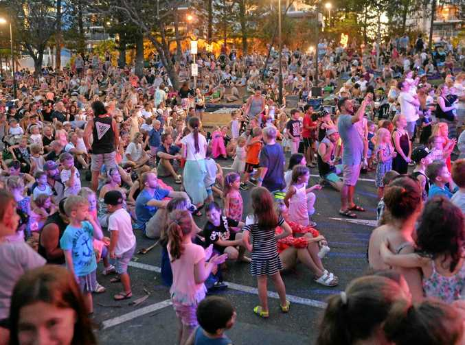 It will be party time at Mooloolaba for New Year's Eve and free buses are the best way to get there.