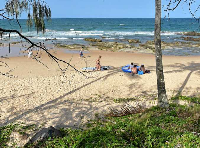 Families have staked their claim on Mooloolaba's