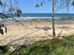 Mooloolaba's 'new' beach a big hit