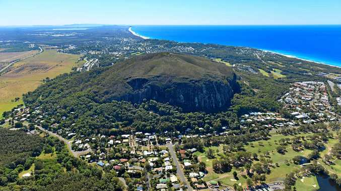 A RESCUE operation is under way to extract a climber from Mount Coolum.