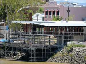 Pier Restaurant edges closer to completion