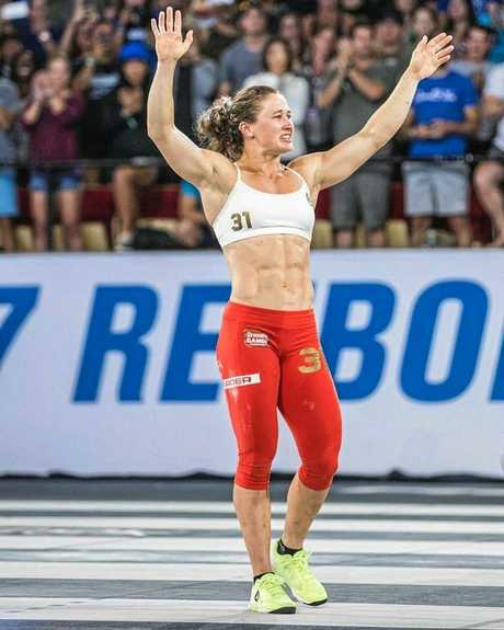 CHAMPION: Tia-Clair Toomey won a thrilling CrossFit Games in the US to be the world's best.
