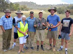 Shooters line up for fly shoot at Risdon Range