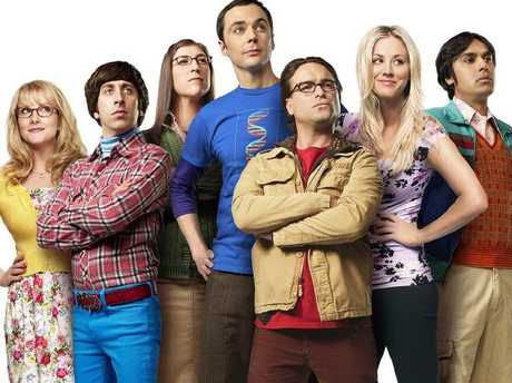 The Big Bang Theory is a worldwide sensation. Picture: Supplied