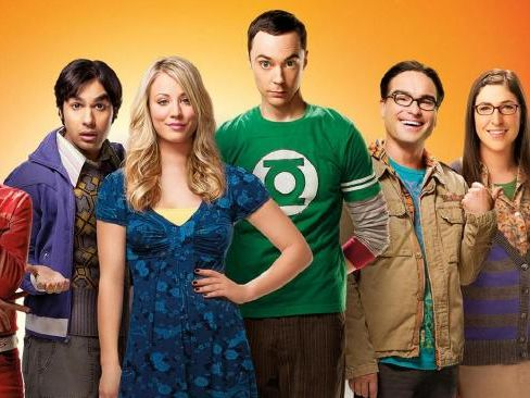 The cast of the popular show, The Big Bang Theory. Picture: Supplied