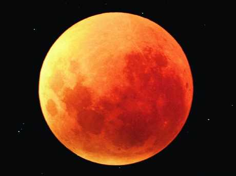A total lunar eclipse will take place on January 31, 2018. Picture: Noel Munford