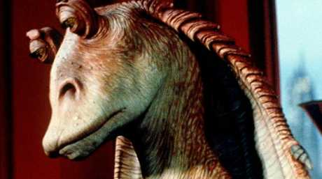Jar Jar Binks, one of the most hated characters in Star Wars: The Phantom Menace. Picture: Supplied