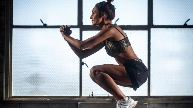 Kayla Itsines has built a fitness empire. Picture: Matt Turner.