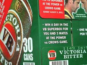 $1m 'will' written on a carton of beer