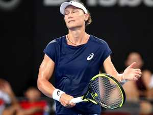 Stosur falls apart on home soil again