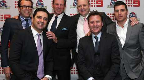The Footy Show's 2016 line-up.