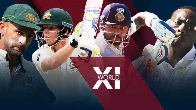 Nathan Lyon, Steve Smith, Virat Kohli and Kagiso Rabada all made our team of the year.