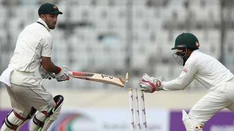 Mushfiqur Rahim wears the gloves in our XI.