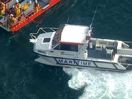 Three Marine Rescue vessels have responded to the incident
