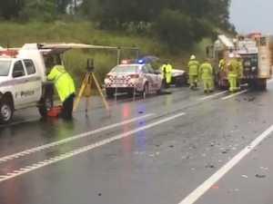 Man dies in Bruce Highway crash