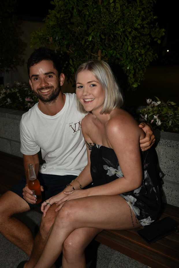 Image for sale: New Years Eve at The Brolga in Maryborough - James Maniskas and Hannah Carmichael from Maryborough.