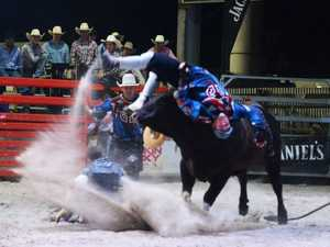 FRAME BY FRAME: Bullfighter's flying start to New Year