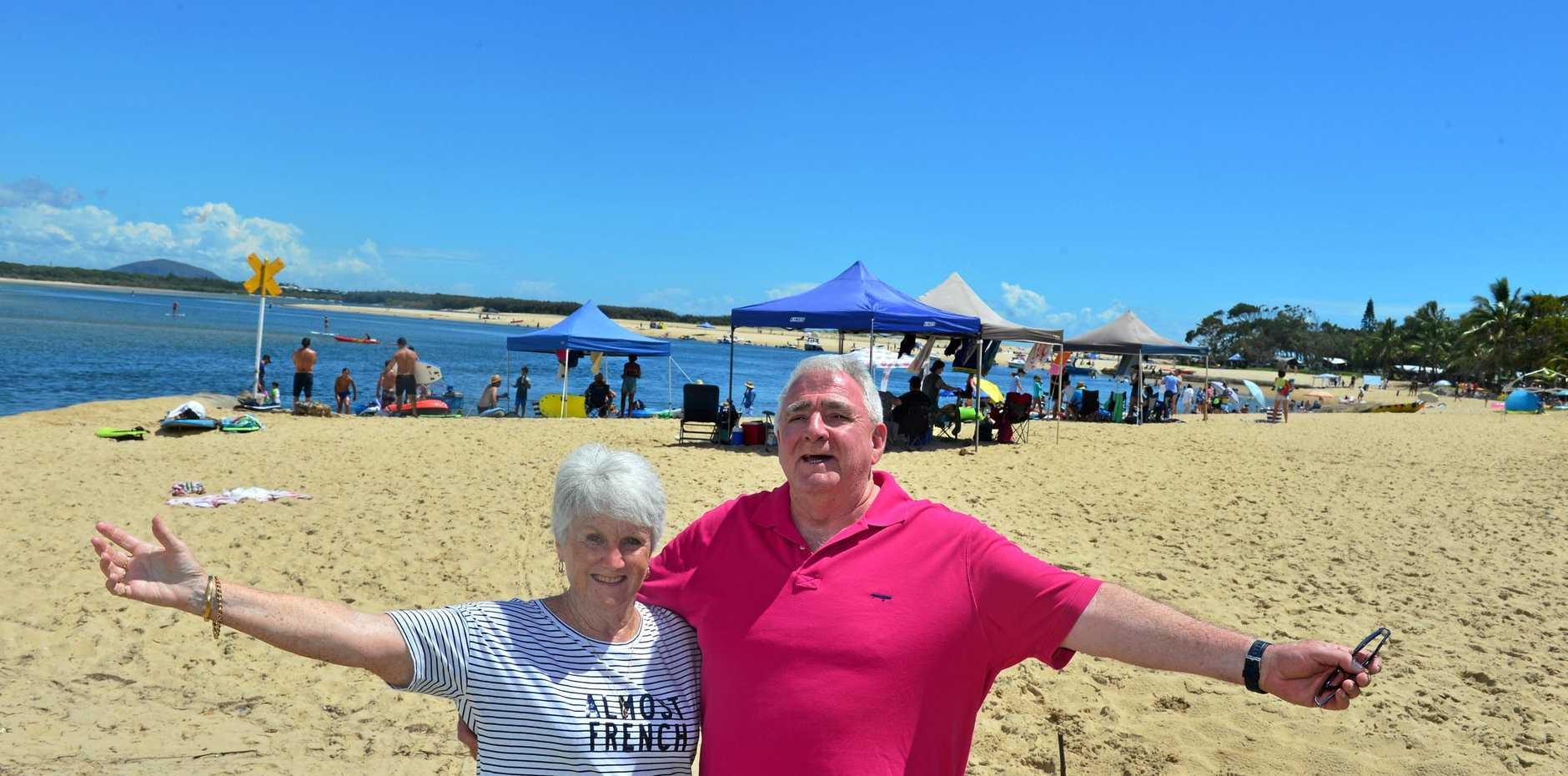BEST OF BOTH WORLDS: Alan and Gwenda Tudman have had enough of the Australian summer and want to buy a place in Europe so they can escape for a few months.