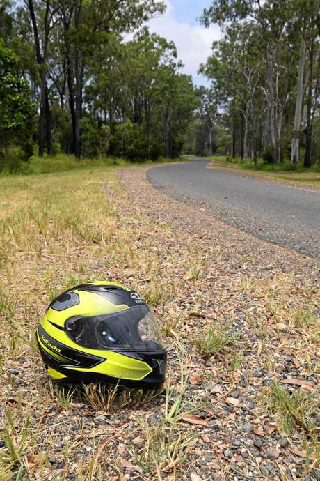 Tracey Searells son Robert was run off North Bucca Road on his motorcycle.