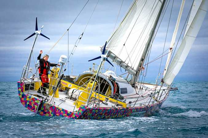 INSPIRING: Lisa Blair will attempt to be the first woman to sail solo non-stop and unassisted around Australia.