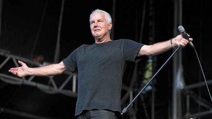 ARIA Hall of Fame inductee Daryl Braithwaite at Falls Festival Byron Bay 2017-18.