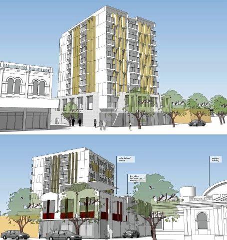 A preliminary design of the 37 William St site