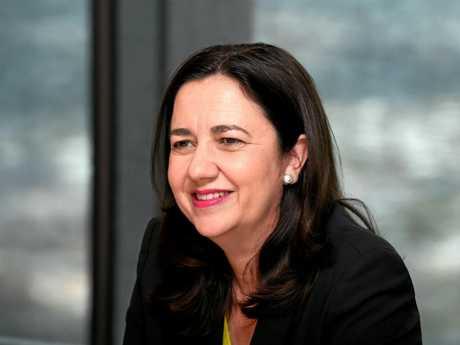 Premier Annastacia Palasszczuk