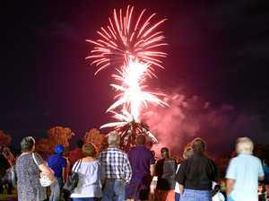 Rain no deterrent for New Year celebrations