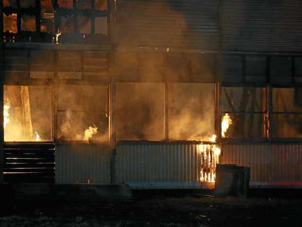Archer Hotel fire.