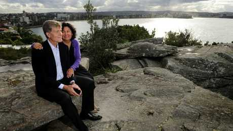 After years of fighting, Steve Johnson, pictured with his wife Rosemarie, finally saw some measure of justice for his late brother Scott when the NSW Coroner agreed Scott had been the victim of a gay hate crime.