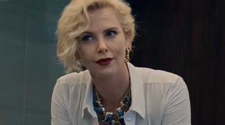 Charlize Theron plays a ruthless executive