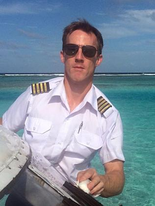 Sydney Seaplanes pilot Gareth Morgan died in the crash yesterday.