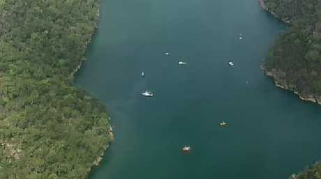 Where the crash on the Hawkesbury River near Jerusalem Bay happened.