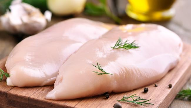 We finally know what those white stripes on raw chicken really are.