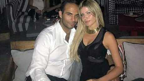 George Papadopoulos and his fiancee Simona Mangiante