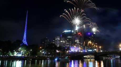 Melbourne looked a picture. Picture: Jay Town