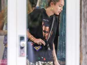Miley Cyrus rolls into Byron Bay with Hollywood A-listers