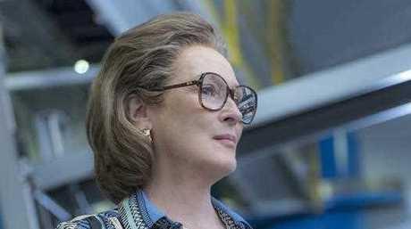 Meryl Streep portrays Katharine Graham in a scene from