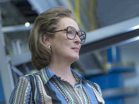 Meryl Streep portrays Katharine Graham in a scene from